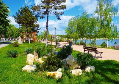 Parcul Techirghiol Faleza Lacului Techirghiol