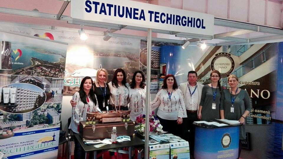 Stațiunea Balneară Techirghiol la Târgul de Turism al României