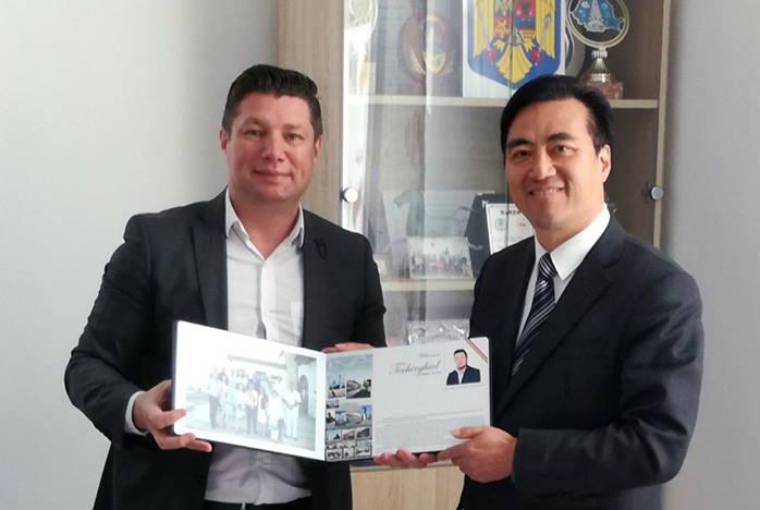 Delegaţia chineză în vizită la Techirghiol