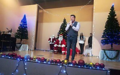 Iulian Constantin Soceanu, Primarul Stațiunii Balneare Techirghiol, face urări techirghiolenilor