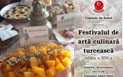 Festivalul de Artă Culinară Turcească – Techirghiol 2019