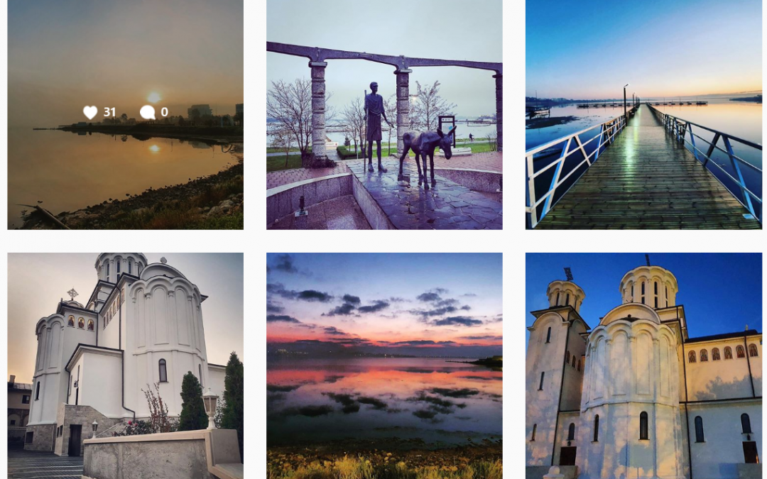 Statiunea Balneara Techirghiol pe Instagram, Facebook si Linkedin