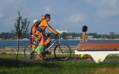 Cu bicicleta prin Techirghiol