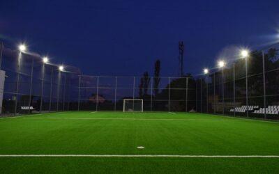 Un nou teren de sport in Statiunea Balneara Techirghiol