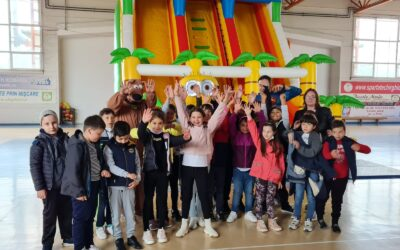 Copii fericiti pe 1 iunie, la Techirghiol