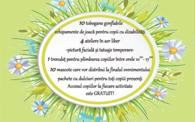 "Va invitam la evenimentul ""Dor de Sanatate"", dedicat zilei de 1 Iunie, la Techirghiol"