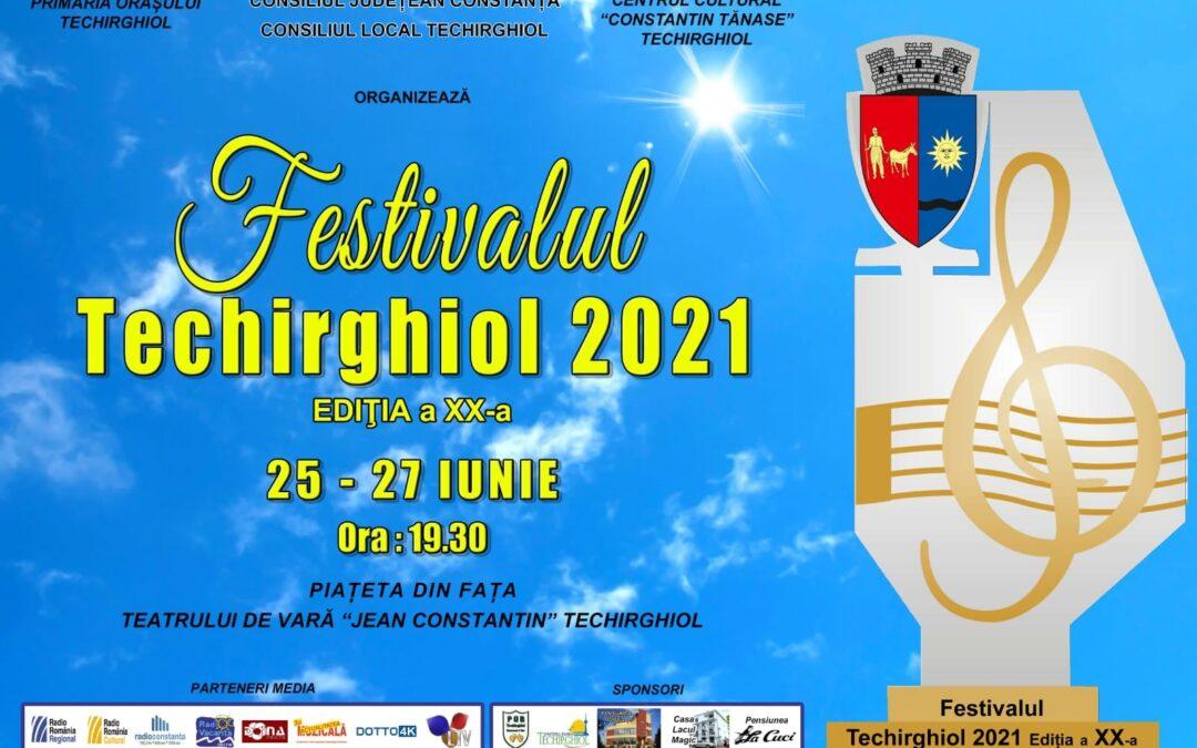 In weekend, va invitam la Festivalul de Muzica Usoara Techirghiol 2021