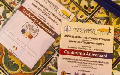Conferință Aniversară la Sanatoriul Balnear și de Recuperare Techirghiol